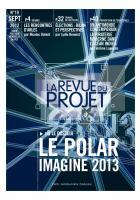 La Revue du  Projet, N° 19,  septembre 2012