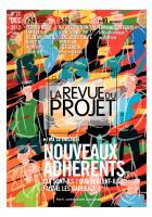 La Revue du  Projet, N° 22,  décembre 2012