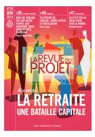La Revue du Projet, N° 28, juin 2013