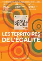 La Revue du projet, N°32, décembre 2013