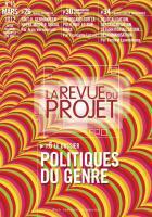 La Revue du  Projet, N° 15, mars 2012