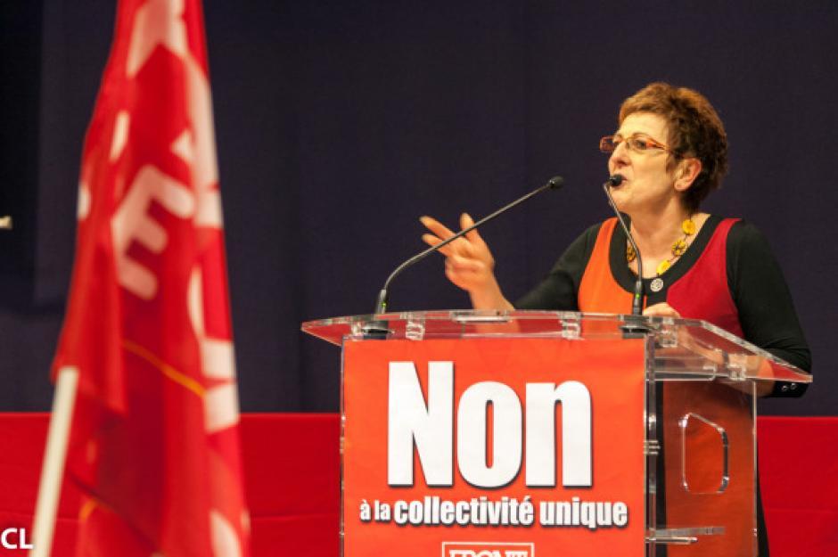 Le rejet par les Alsaciens d'un projet antidémocratique, Aline Parmentier