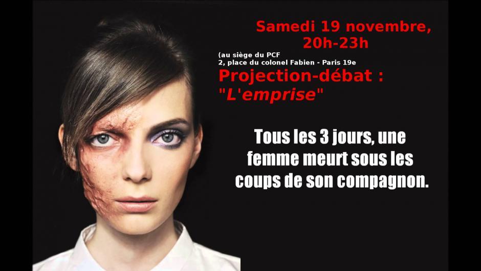 19 novembre 20h : Projection/débat