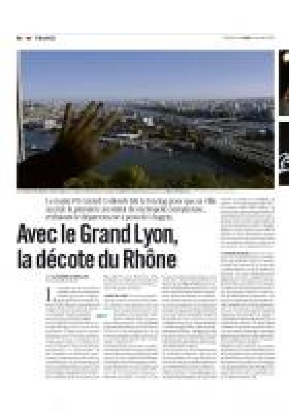 La Métropole lyonnaise, Danielle Lebail, Marie-France Vieux-Marcaud