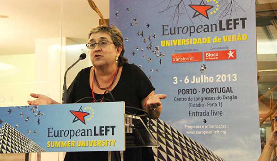 Une campagne européenne, entretien avec Maïté Mola