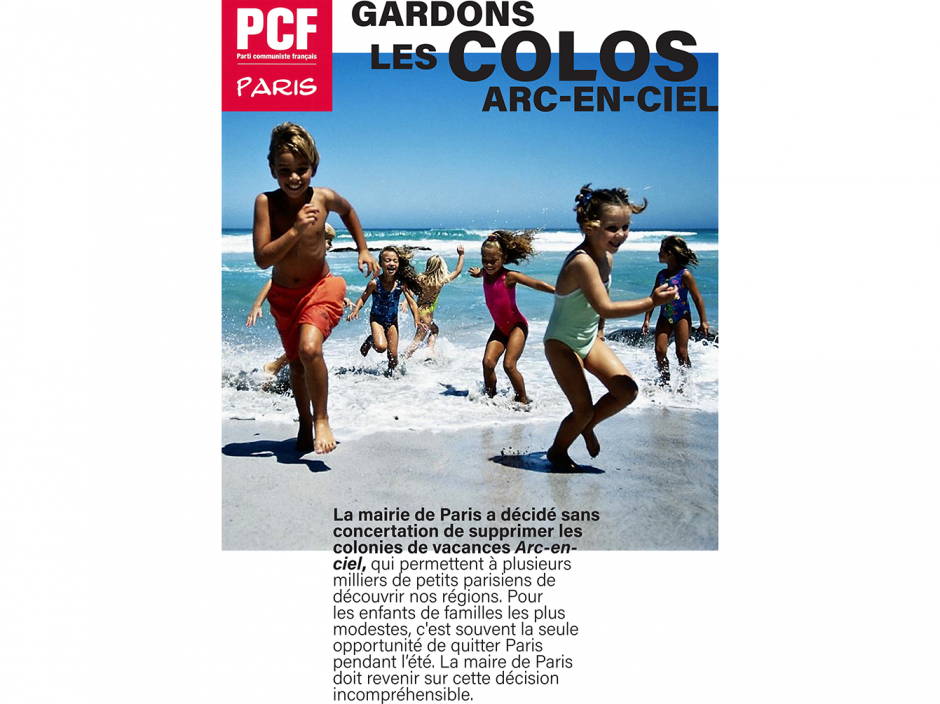 GARDONS LES COLOS ARC-EN-CIEL
