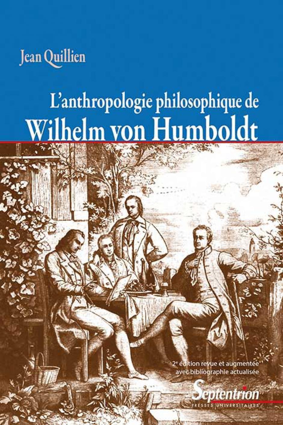 Jean Quillien, L'anthropologie philosophique de Wilhelm von Humboldt
