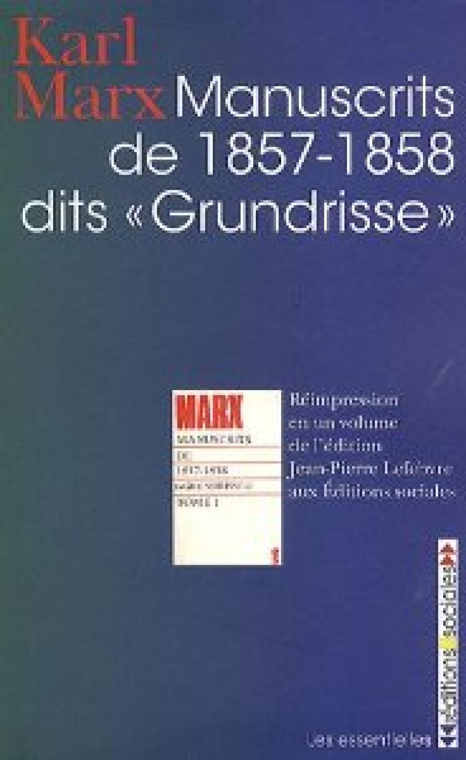 Karl Marx : Fragment sur les machines