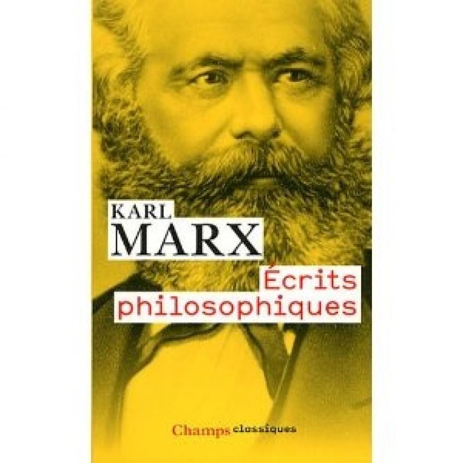 Écrits philosophiques, Karl Marx