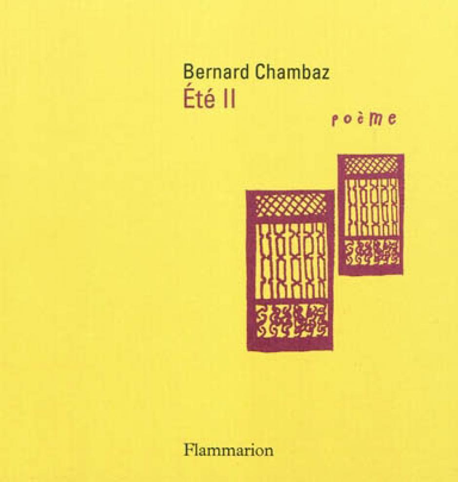 Bernard Chambaz, Katherine Battaiellie
