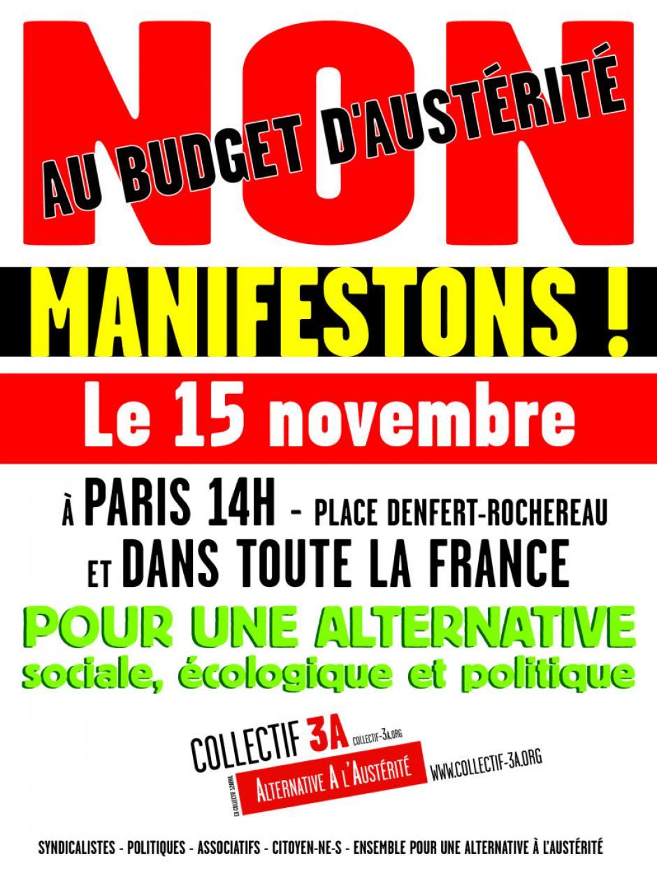 Affiche 15 novembre
