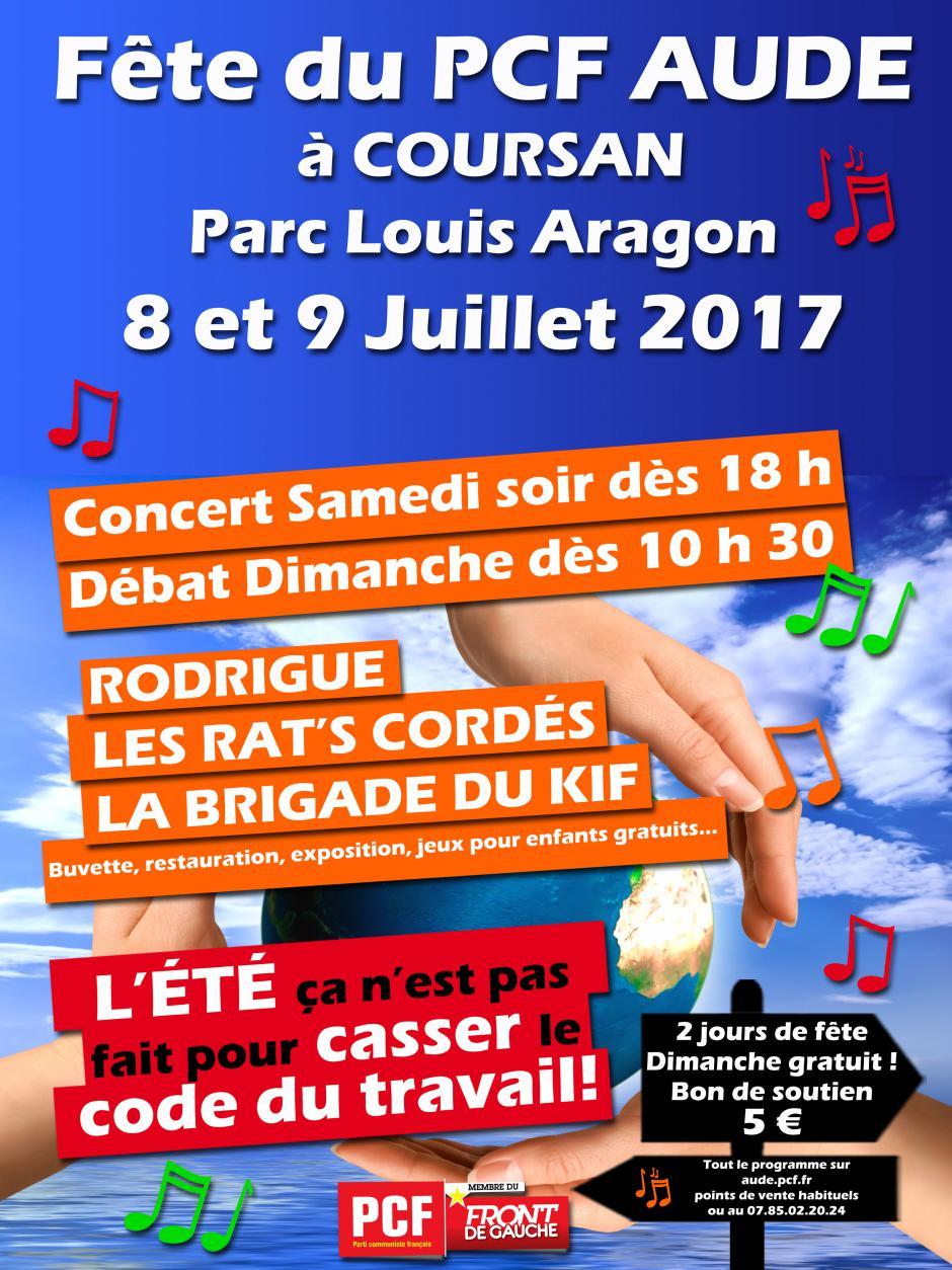 Fête fédérale du PCF de l'Aude