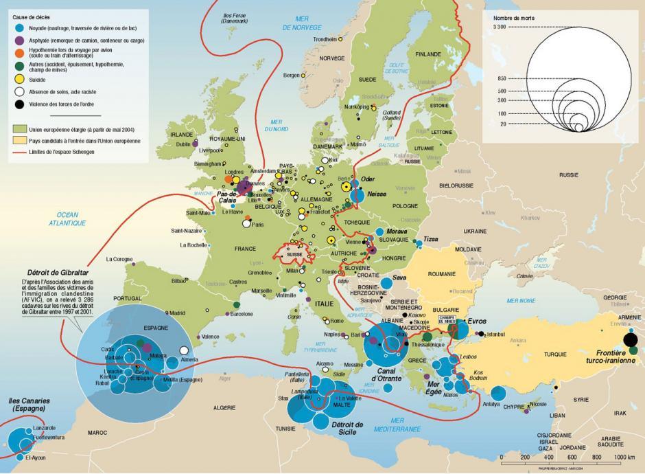 Liberté de circulation et frontières européennes