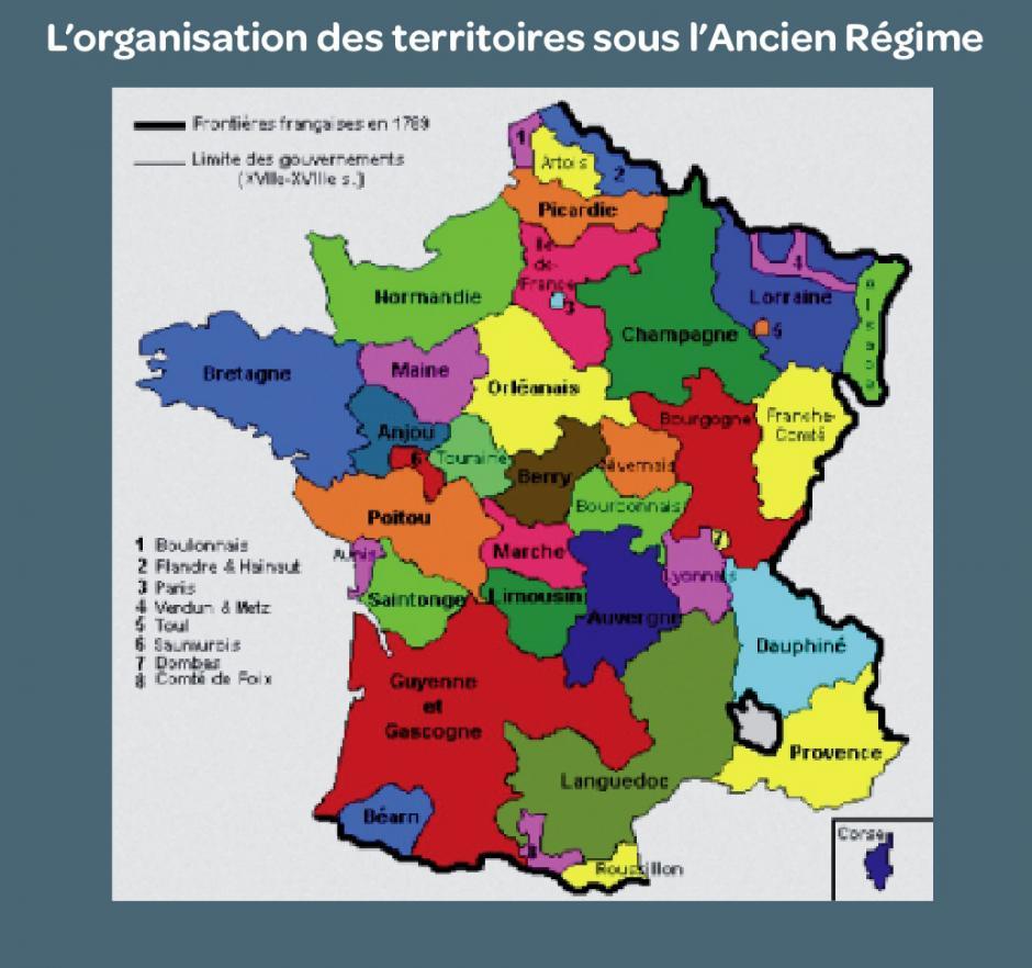 L'histoire de l'organisation du territoire, Pauline Durand*