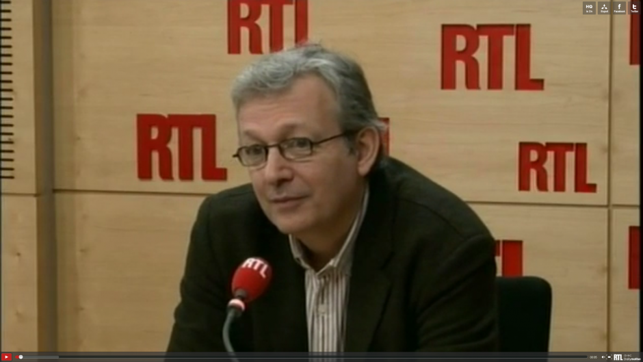 Pierre Laurent invité de RTL 2012 - 10 mars 2012