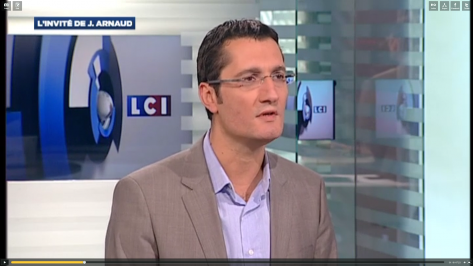 Olivier Dartigolles sur LCI : 