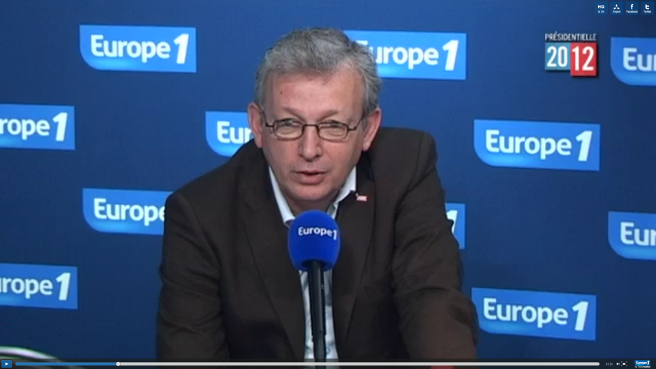Pierre Laurent sur Europe 1 :
