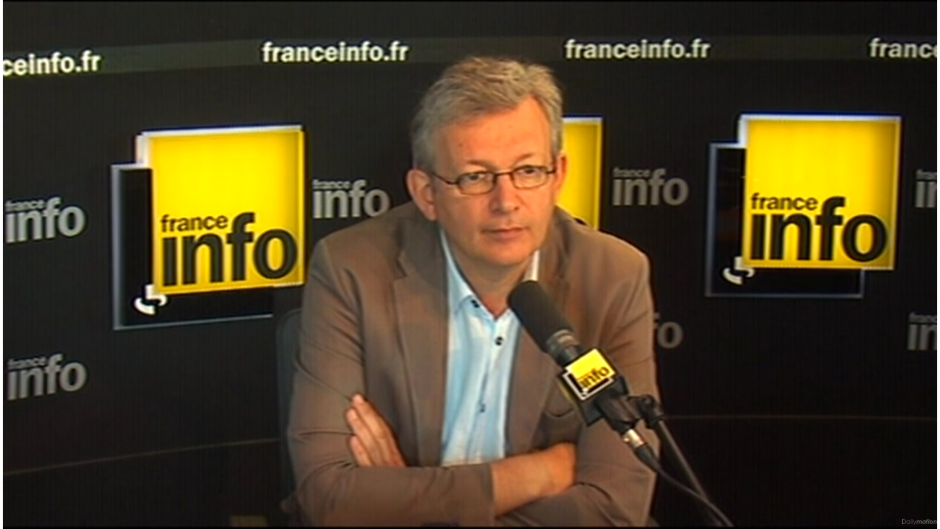Pierre Laurent sur France Info :
