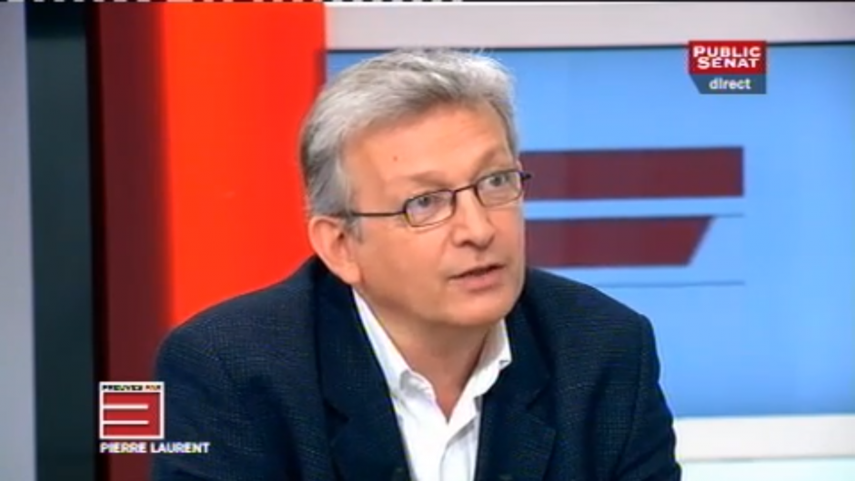 Pierre Laurent invité de la