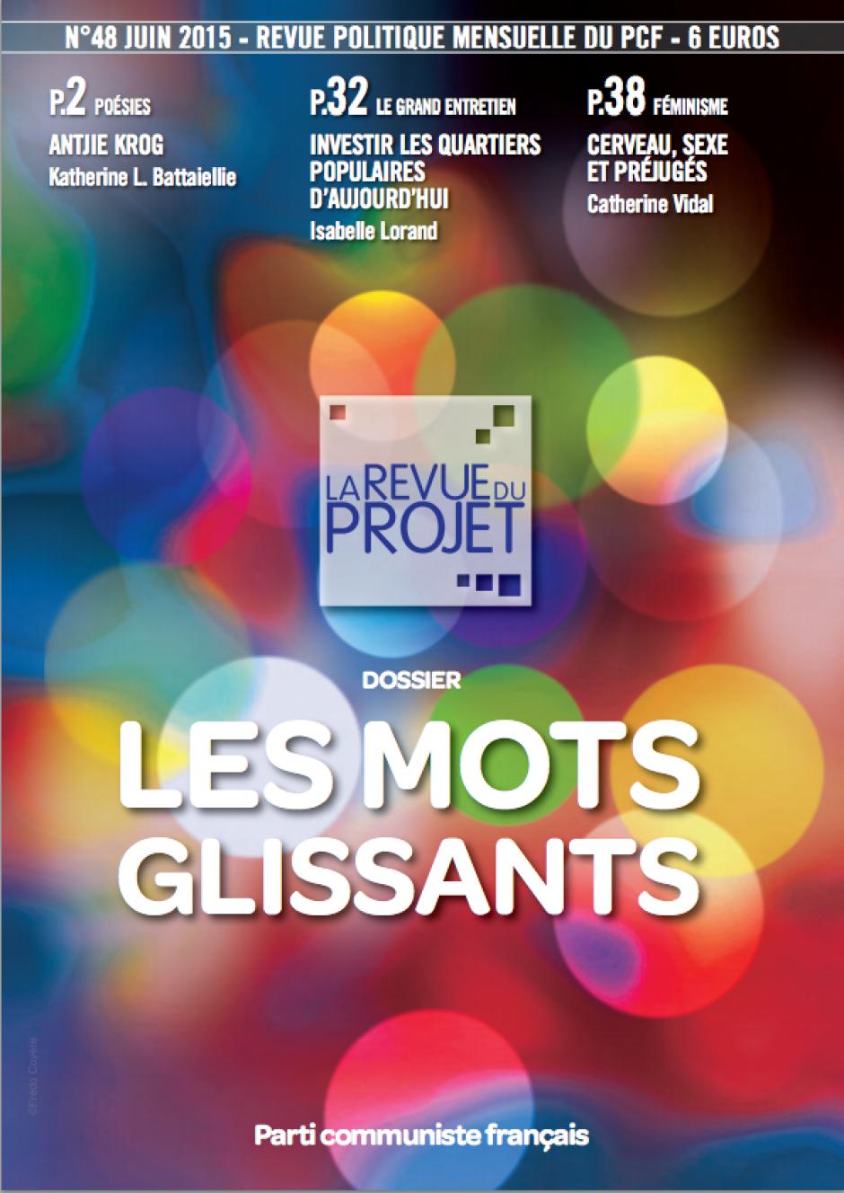 La Revue du projet, n° 48, juin 2015