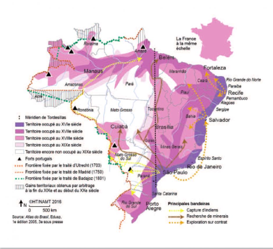 La production du territoire brésilien, Hervé Thery*