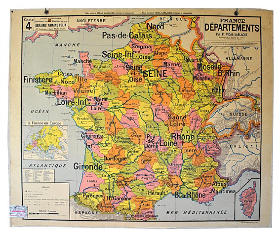 Géographie d'hier et d'aujourd'hui, Jean Dresch*