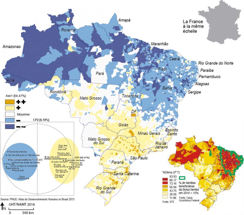 Brésil, contrastes et disparités, Hervé Thery*