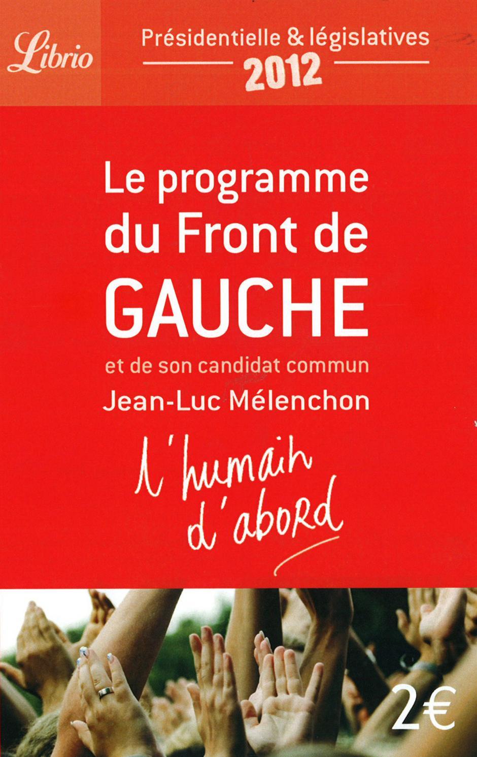 Le programme du Front de gauche en débat  Pour une copropriété des entreprises, Guillaume Etievant, Pierre Nicolas, Pierre Lafourcade*