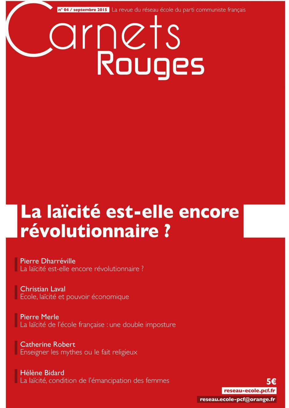 « La laïcité est elle encore révolutionnaire ? »