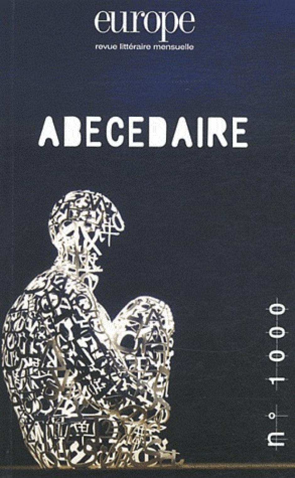 « Abécédaire » Europe, n° 1000-1001,