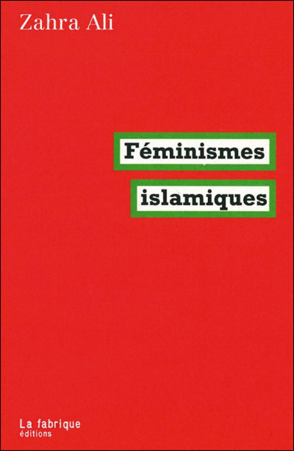 Féminismes islamiques, Zahra Ali