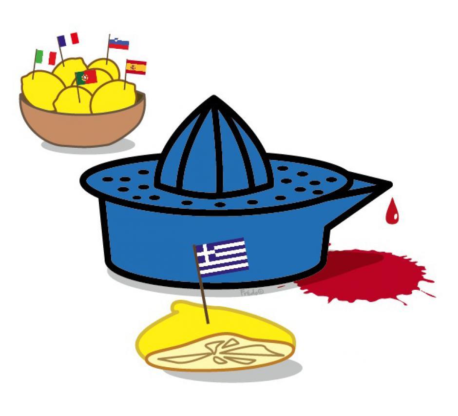 Grèce, le bras de fer continue, Denis Durand,