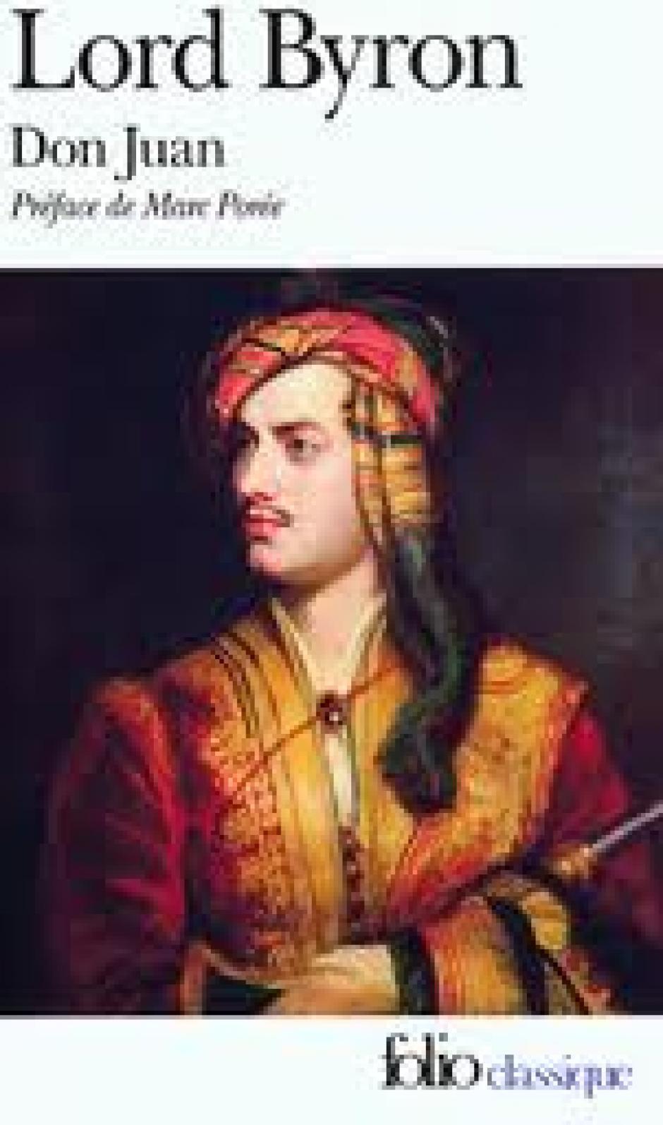 Lord Byron, un homme libre, Franck Delorieux