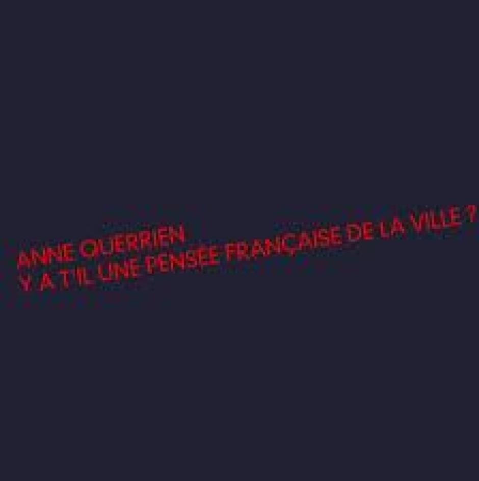 Du logement ouvrier à l'habitat populaire, Anne Querrien*
