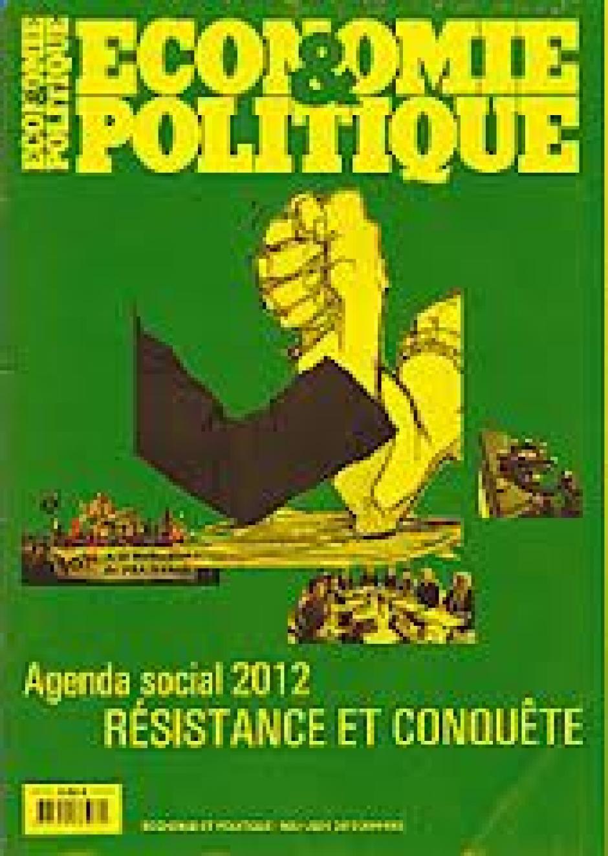 Économie et Politique, n°694-695