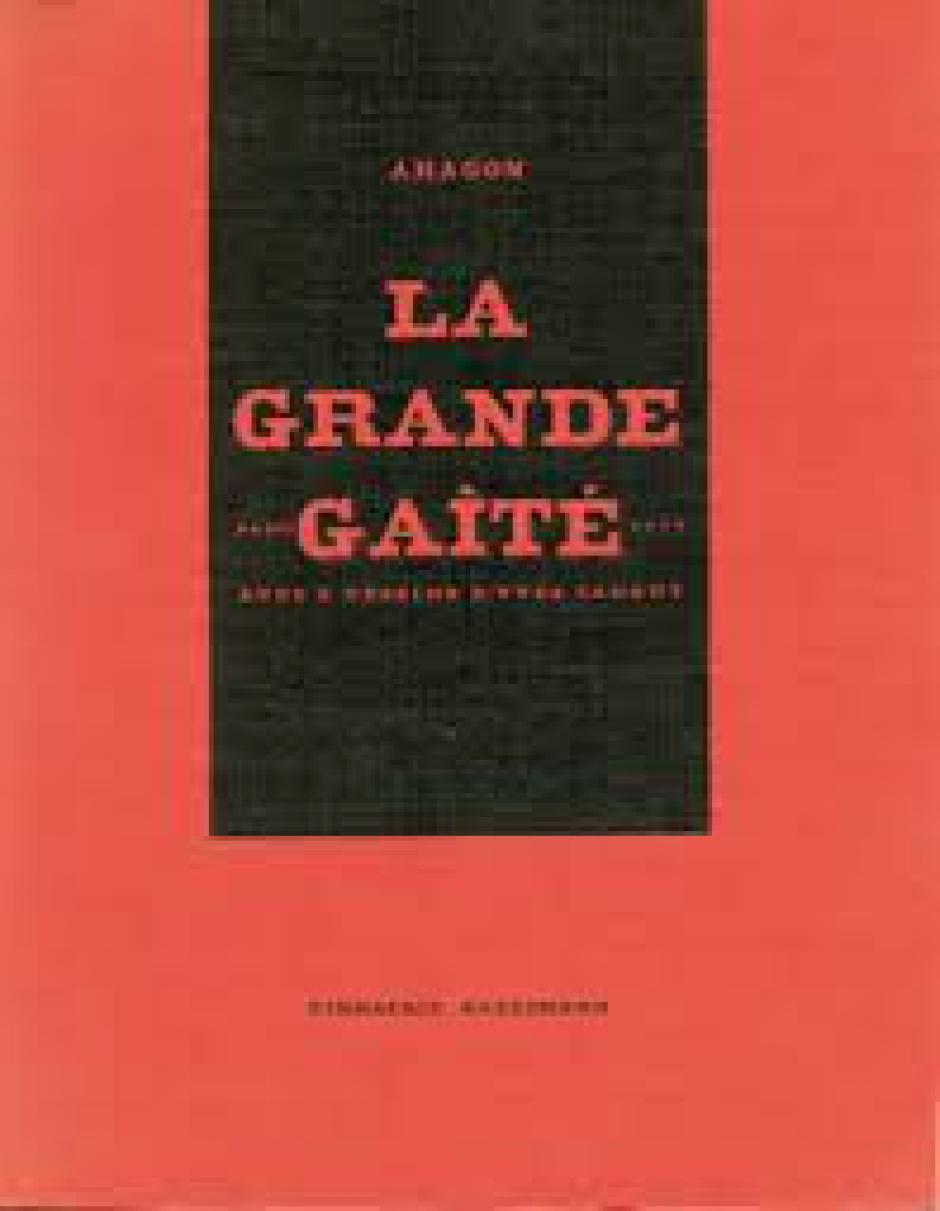 La Grande Gaîté de Louis Aragon, Victor Blanc