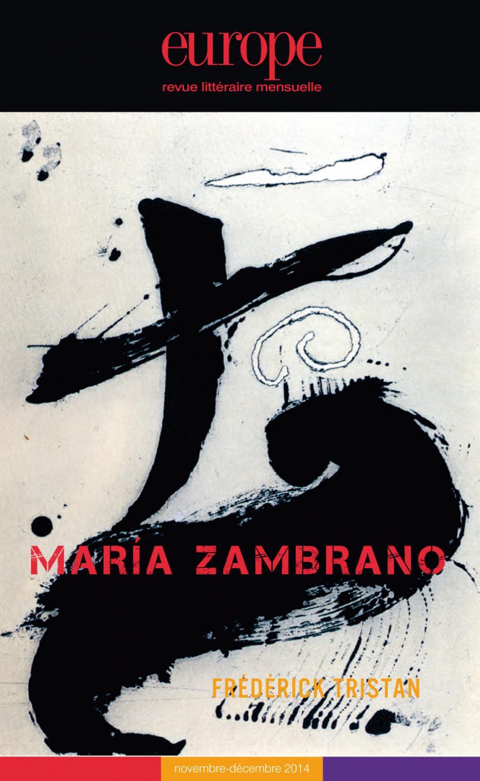 Europe, Maria Zambrano