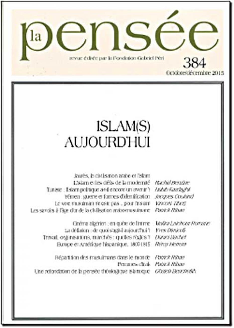 « Islam(s) aujourd'hui »