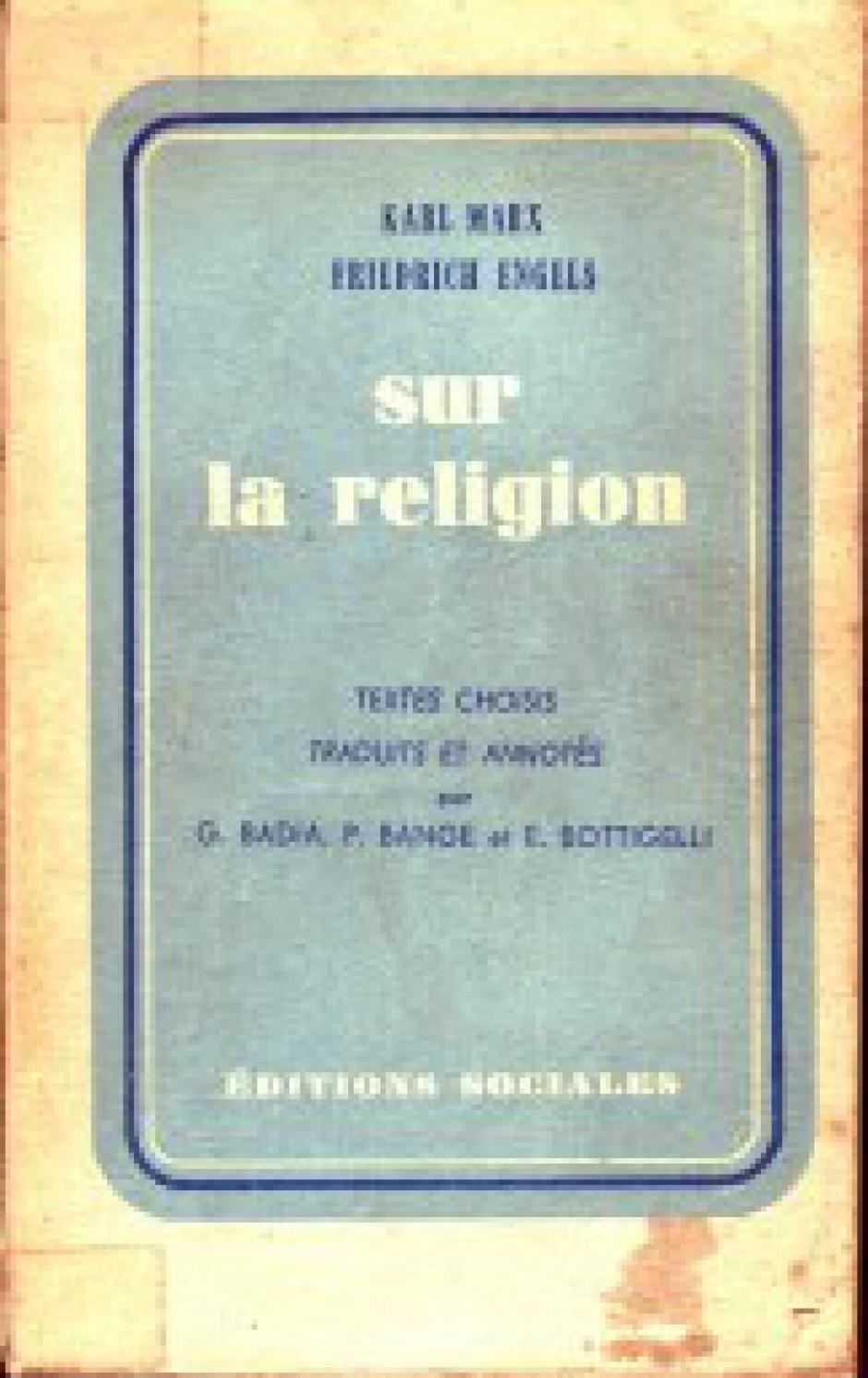 Sous le masque de la religion