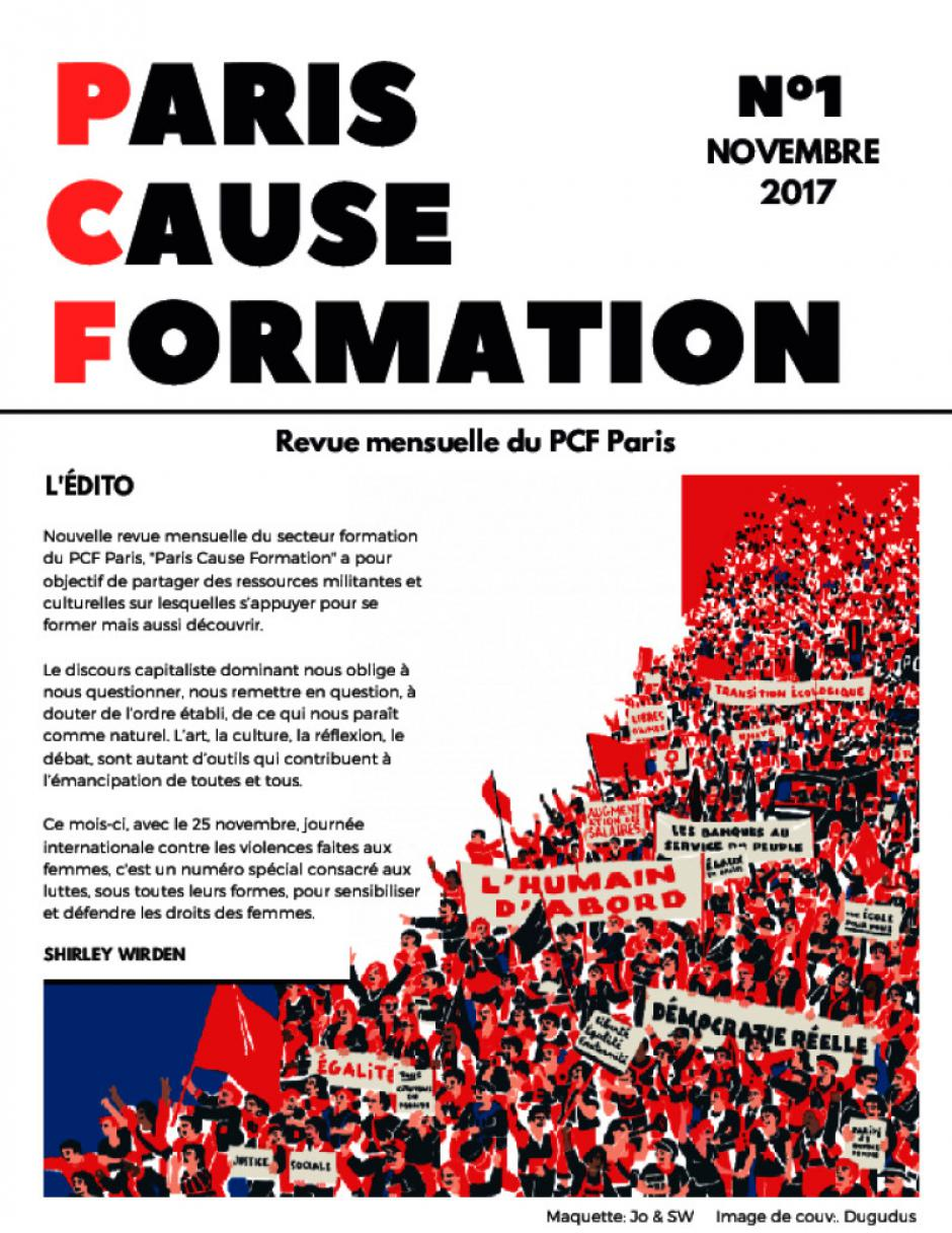PARIS CAUSE FORMATION N°1