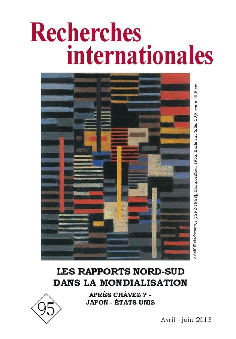 « Les rapports Nord-Sud dans la mondialisation »