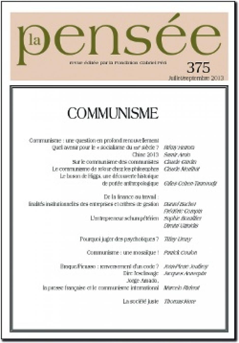 « Communisme »