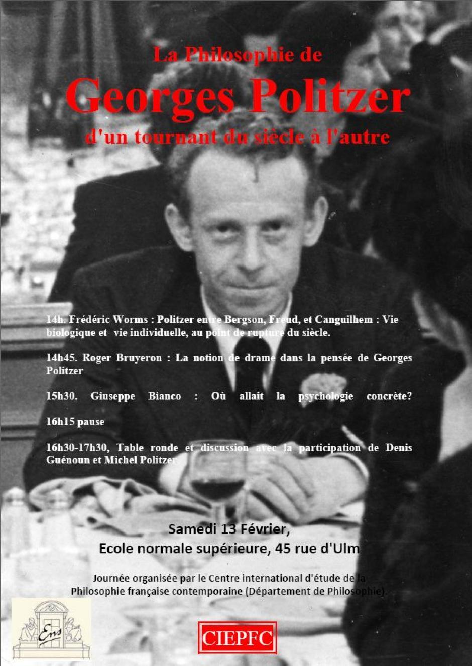 Les trois vies de Georges Politzer, Roger Bruyeron*