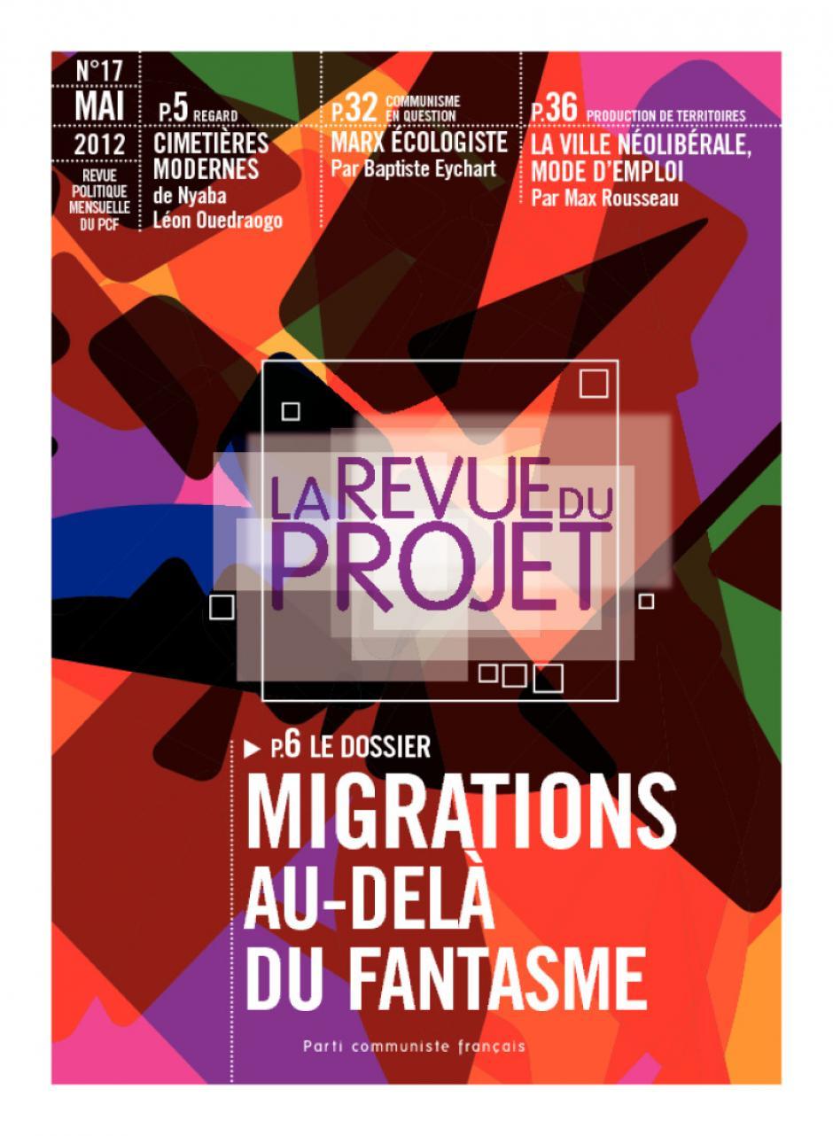 La Revue du  Projet, N° 17,  mai 2012