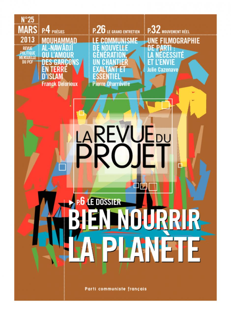 La Revue du  Projet, N° 25,  mars 2013