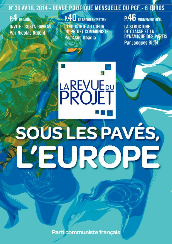 La Revue du projet, n°36, avril 2014
