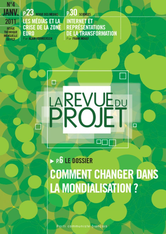 N°4 : Comment changer dans la mondialisation