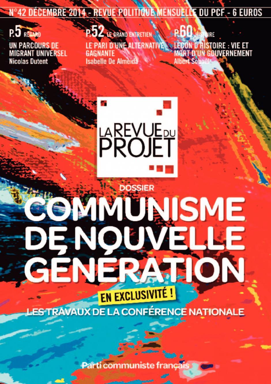 La Revue du projet, n° 42, décembre 2014