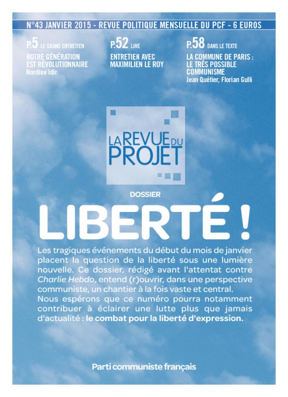 La Revue du projet, n° 43, janvier 2015