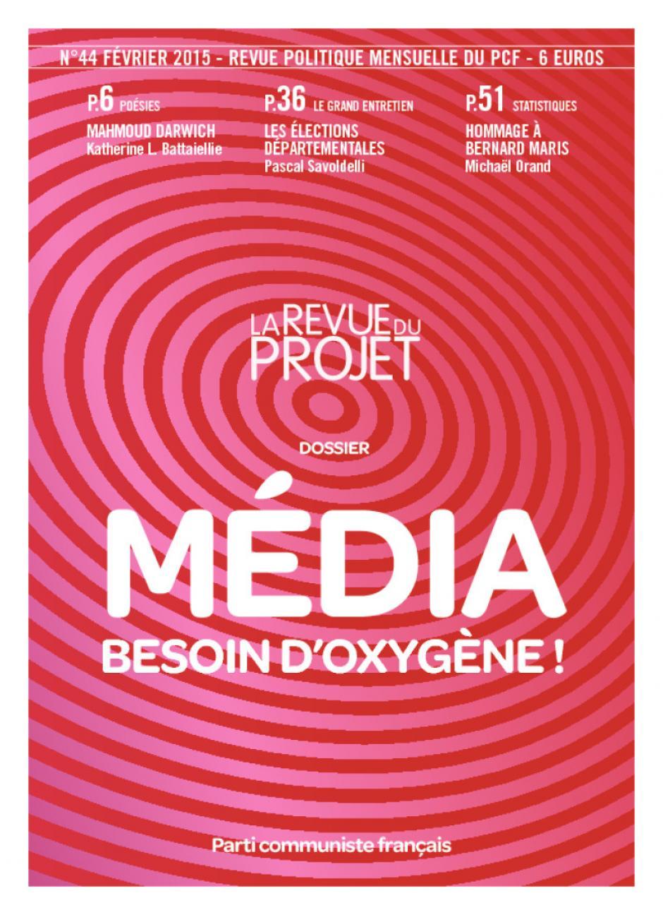 La Revue du projet, n° 44, février 2015